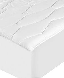 100% Cotton Moisture Wicking and Stain Release King Mattress Pad