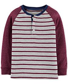 Carter's Toddler Boys Striped Henley T-Shirt