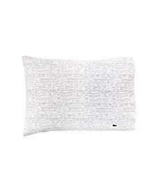 Lacoste Textured Dashes Std King Sheet Set