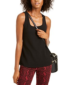 INC Square-Neck Tank Top, Created For Macy's