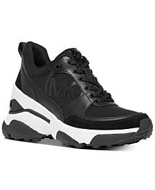 Michael Michael Kors Mickey Trainer Wedge Sneakers