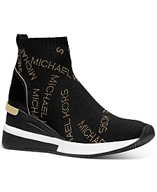 Michael Michael Kors Skyler Wedge Sneakers