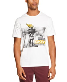 DKNY Men's Liberty Torch Graphic T-Shirt