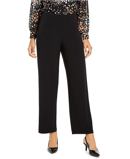 Alfani Pull-On Career Pants, Created for Macy's