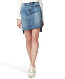 Denim Rio Vista Step Hem Jean Skirt