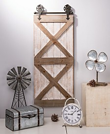 Glitzhome Farmhouse Wooden Barn Door