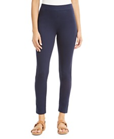 JM Collection Studded Side-Stripe Leggings, Created for Macy's