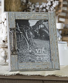 Distressed and Wood Photo Frame