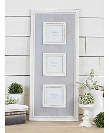 VIP Home & Garden Wood Triple Photo Frame