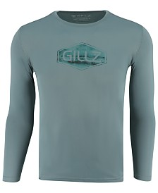 Gillz Men's Rollin In Sun Defender Long-Sleeve T-Shirt
