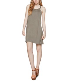 BCBGeneration Crisscross A-Line Dress
