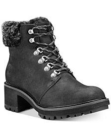 Timberland Women's Kinsley Hiker Waterproof Leather Boots