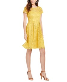 Adrianna Papell Floral Lace Dress