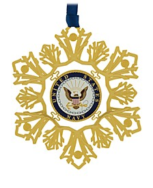 U.S. Navy Snowflake Ornament