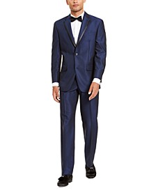 Men's Classic-Fit Blue Diamond Suit Separates