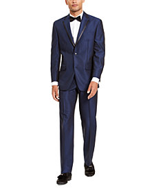 Sean John Men's Classic-Fit Blue Diamond Suit Separates