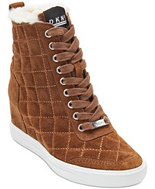 Cira Wedge Sneakers, Created For Macy's