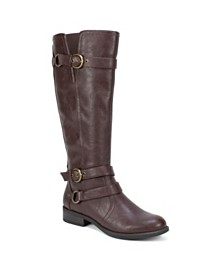 White Mountain Loyal Wide Calf Tall Boots