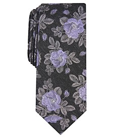 Men's Fairmont Skinny Floral Tie, Created for Macy's