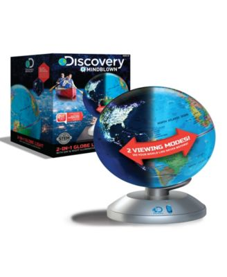Discovery #Mindblown Globe 2 in 1 Day and Night Earth