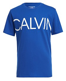 Calvin Klein Jeans Big Boys Logo T-Shirt