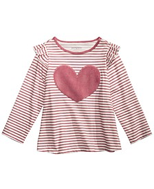 Baby Girls Cotton Heart T-Shirt, Created for Macy's