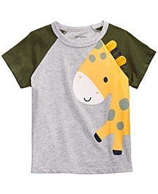 Toddler Boys Colorblocked Giraffe T-Shirt, Created for Macy's