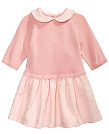 Baby Girls Lace Sweater Dress, Created for Macy's