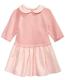 First Impressions Baby Girls Lace Sweater Dress, Created for Macy's