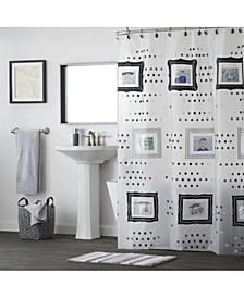 Ltd Pocketz Peva Shower Curtain