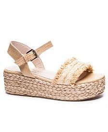 Chinese Laundry Ziba Espadrille Flatform Sandals