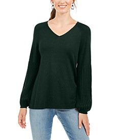 Bishop-Sleeve Tunic Sweater, Created for Macy's