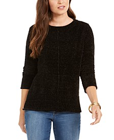 Petite Chenille Pullover Sweater, Created for Macy's