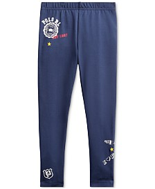 Polo Ralph Lauren Toddler Girls Varsity Jersey Leggings