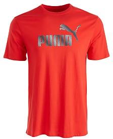 Puma Men's Printed-Logo T-Shirt