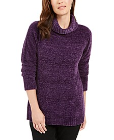 Chenille Mock-Neck Sweater, Created for Macy's