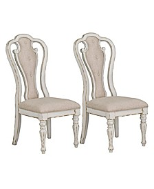 Stevenson Manor 2-Pack Upholstered Dining Chair, Quick Ship