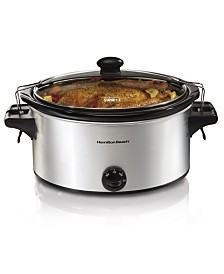 Hamilton Beach Manual Stay or Go 6-Qt. Slow Cooker