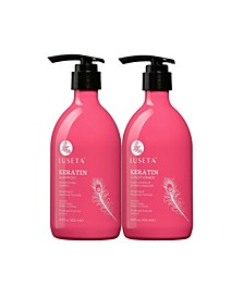 Luseta Beauty Keratin Smooth Shampoo & Conditioner Set 33.8 Ounces