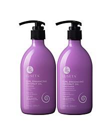 Luseta Beauty Curl Enhancing Coconut Oil Shampoo & Conditioner Set 33.8 Ounces