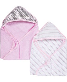 Boys and Girls Muslin Hooded Towel - Pack of 2