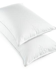 White Goose Down King Pillow, 500 Thread Count