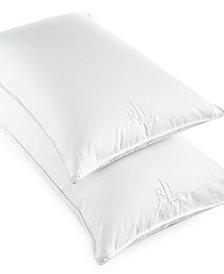 Lauren Ralph Lauren White Goose Down King Pillow, 500 Thread Count