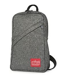 Manhattan Portage Midnight Ellis Backpack with Zipper Pocket