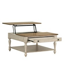 Montgomery Light Lift Top Coffee Table, Quick Ship