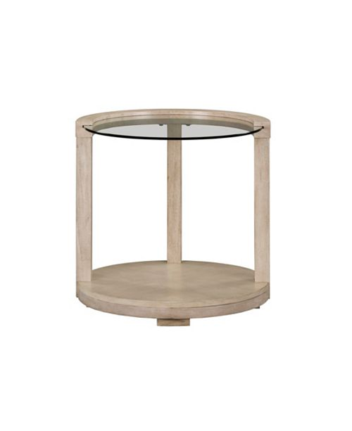 Furniture Cleo Round End Table