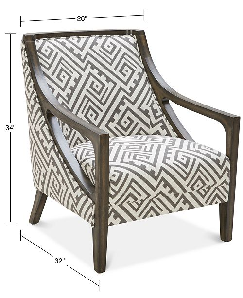 Furniture Kourtney Accent Chair Amp Reviews Chairs