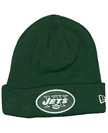 New York Jets Basic Cuff Knit Hat