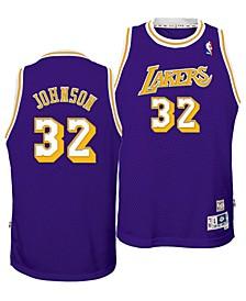 Big Boys Magic Johnson Los Angeles Lakers Retired Player Swingman Jersey
