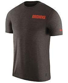 Nike Men's Cleveland Browns Coaches T-Shirt
